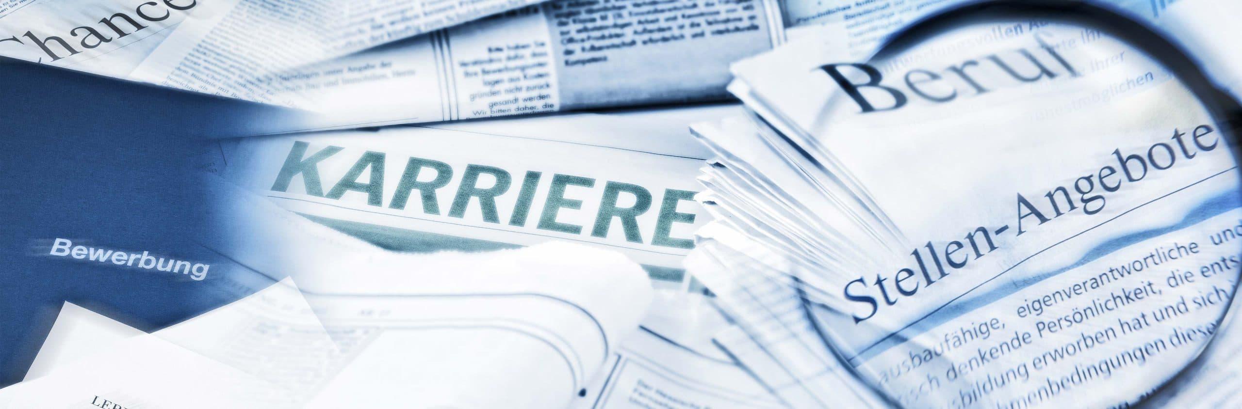 Zeitungen Berufswahl und Karriere